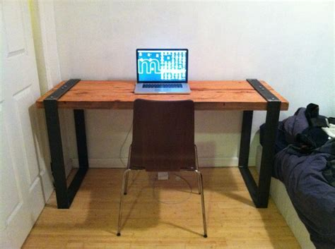 Pin By Miranda Mandichak Thomas On Home Office Pinterest Diy Metal Desk