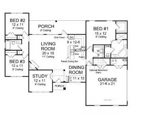 floor plans with open concept 2 open concept floor plans open concept floor plan hwbdo75428 traditional house plan from
