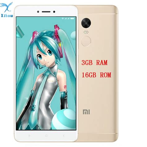 Xiaomi Note 4x Ram 3 Gb Rom 16 Gb Gold Berkualitas brand new xiaomi redmi note 4x 3gb ram 16gb 4 x mobile phone rom snapdragon 625 octa 5 5