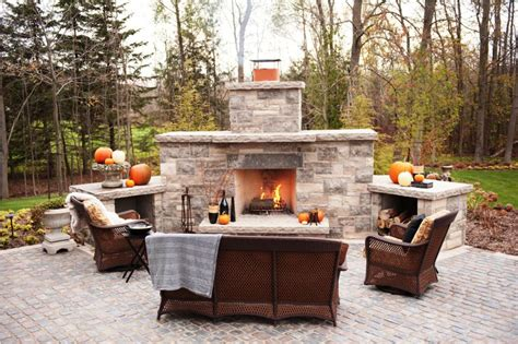 backyard fireplace kits outdoor fireplace longmire wood outdoor fireplace