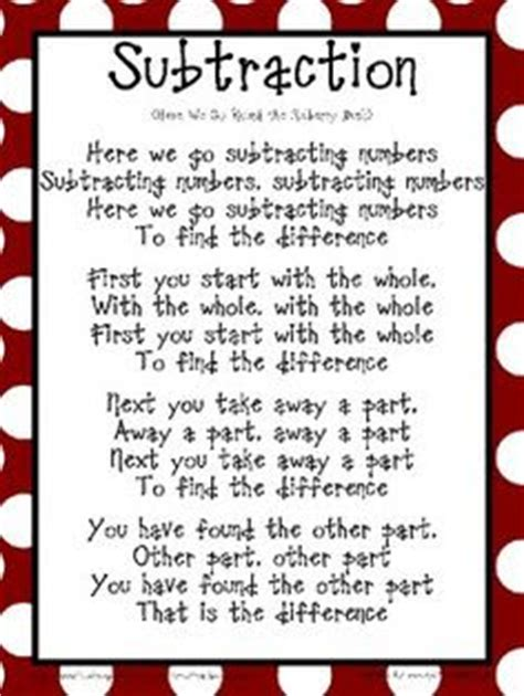 s day beginning song groveton eaglets math poems and songs