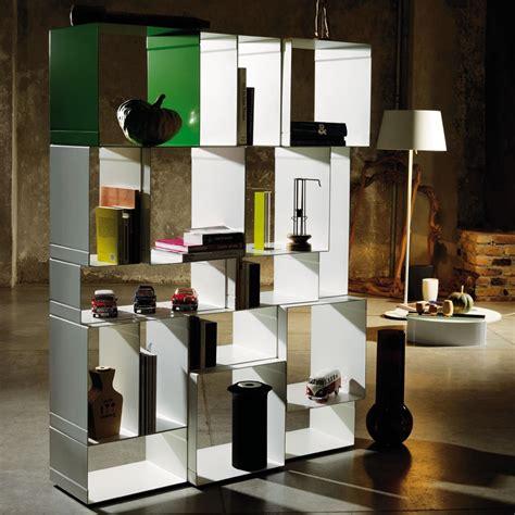 libreria divisoria libreria scaffalatura modulare in acciaio kubica