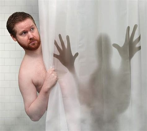 scary shower curtain scary shower curtain 187 gadget flow