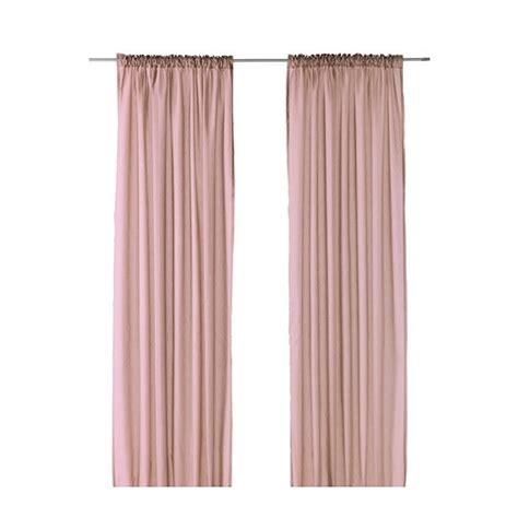 ikea vivan curtains white ikea vivan pink curtains 10 x2 nursery mood board