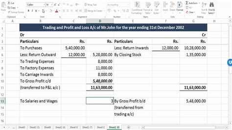 balance sheet format in excel for company balance sheet format in