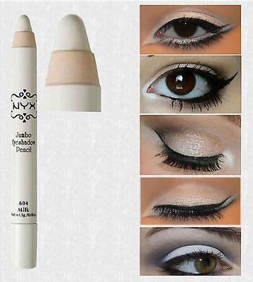 Nyx White Pencil nyx jumbo eye pencil liner milk primer white eye