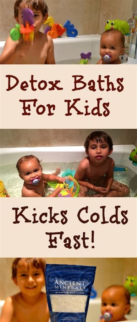 Detox Bath For With A Cold by Kick Colds Fast With A Detox Bath For Detox Baths