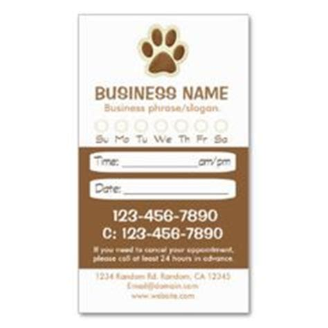 veterinary reminder card template 1000 images about groomers printing zazzle