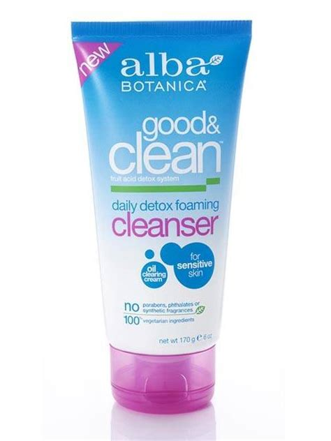 Alba Detox Wash by Alba Botanica Clean Daily Detox Foaming Cleanser 6 Oz