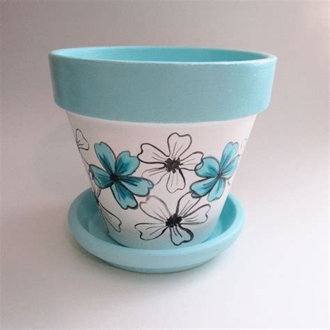 Painted Planter Pots by 1000 Ideas About Painted Flower Pots On Clay