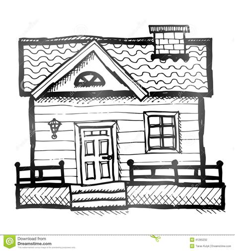 picture of a house house stock vector image 41265232