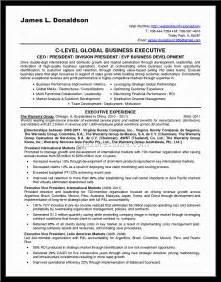Sample Business Development Resume resume sample business development resume sample business development