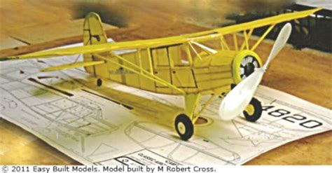 airplane rubber st rearwin trainer ca01 easy built balsa wood model airplane