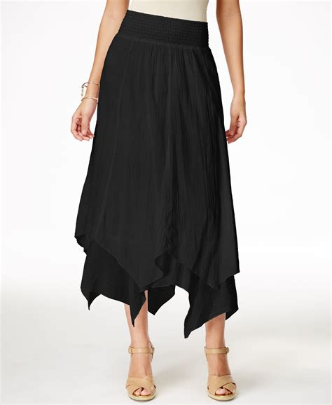Hem Co style co handkerchief hem skirt only at macy s in