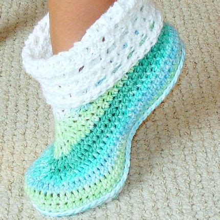 free crochet slipper patterns for adults free crochet pattern slippers crochet and knit