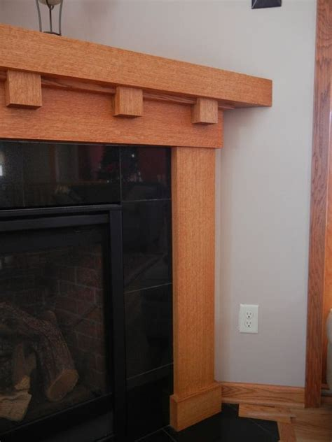 craftsman fireplace mantels white oak fireplace mantel craftsman style fireplace