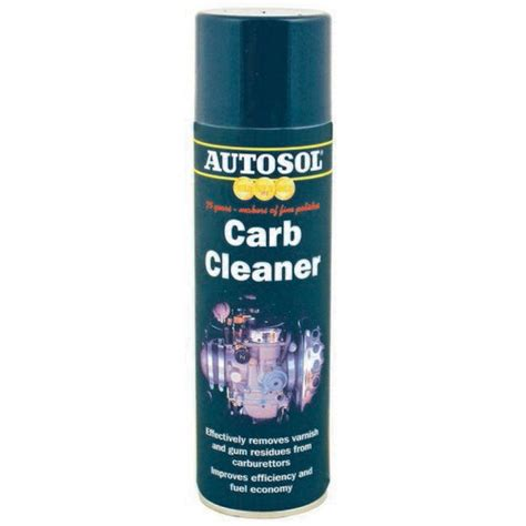 Carb Cleaner A72 500ml performance motorcare products ltd autosol carb cleaner 500ml