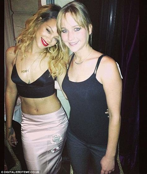 Rihanna finds a new BFF in Jennifer Lawrence as the pair