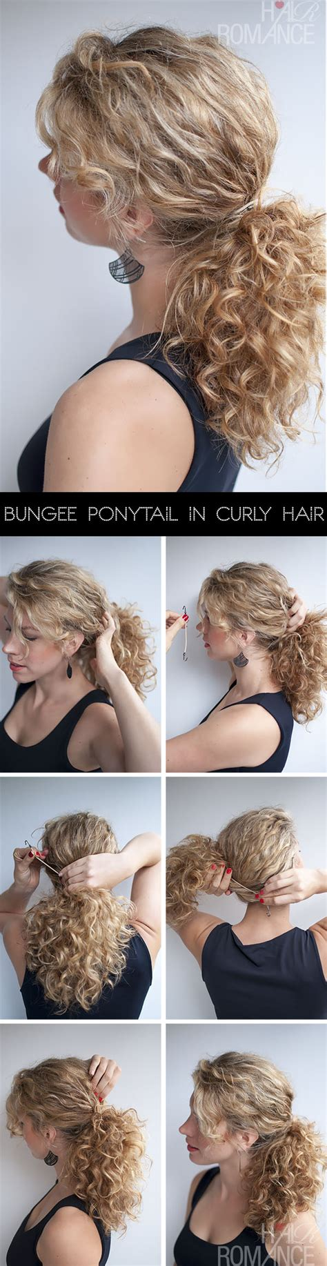 curling hair tutorial for med hair curly hairstyle tutorial the curly ponytail hair romance