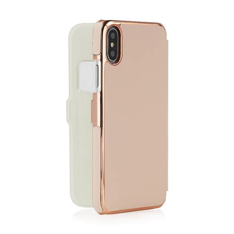 iphone x uk iphone x dusty pink leather slim wallet magnetic with 1 card slot dusty pink