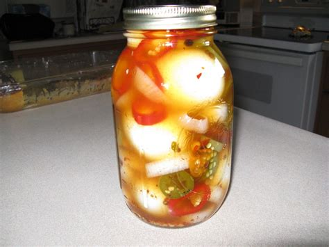 the best spicy pickled eggs recipe hubpages
