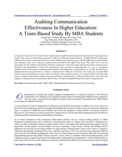 Communication For Mba Students by Auditing Communication Effectiveness In Pdf