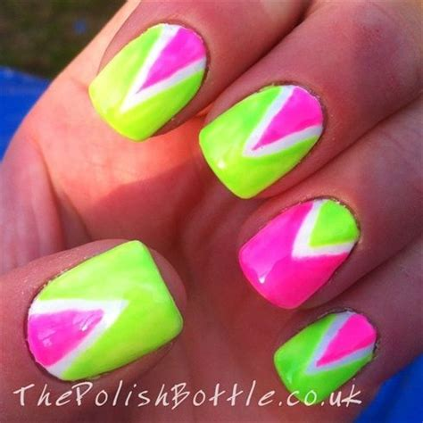 neon pattern nails 94 best images about neon nail art on pinterest nail art