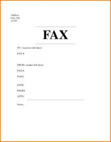 Cover Fax Letter Sle by 7 Fax Cover Sheet Format Itinerary Template Sle