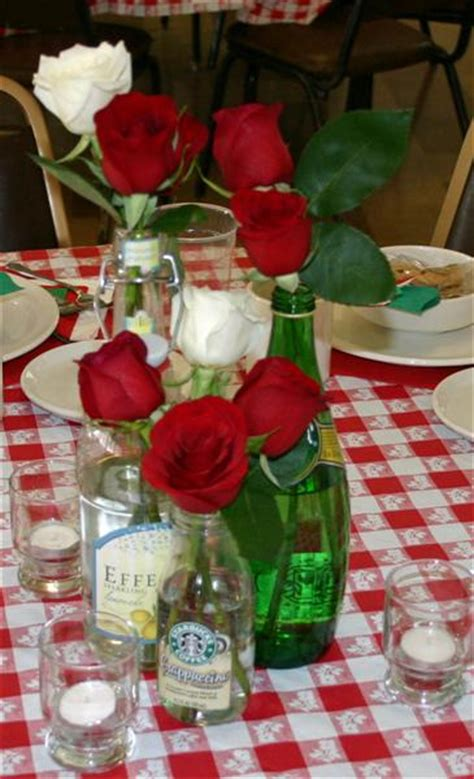italian dinner centerpieces more is more 187 archive 187 saints alive italian dinner
