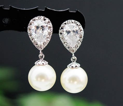 braut ohrringe wedding jewelry wedding earrings bridal earrings