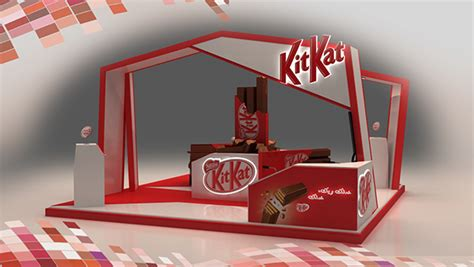 booth layout en francais kitkat booth on behance