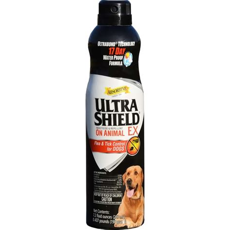 flea and tick spray for dogs ultrashield ex flea tick spray for dogs 7 oz