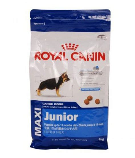 Royal Canin Maxi royal canin maxi junior 1 kg buy royal canin maxi junior 1 kg at low price snapdeal
