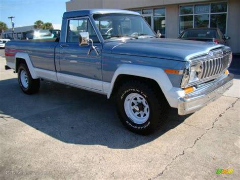 1984 silver blue jeep j series truck j10 4x4 18033260