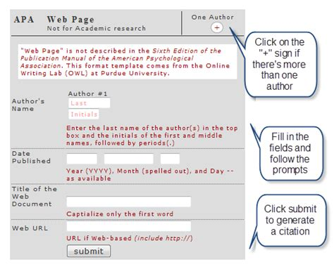 apa format generator online in text citation generator apa website