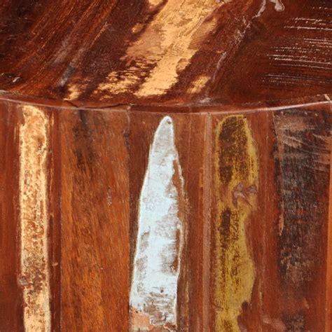 salontafel hout kopen salontafel rond gerecycled hout online kopen vidaxl nl