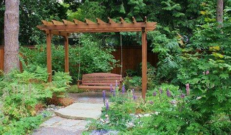 garden swing arbor garden pinterest arbor bench swing outdoor spaces pinterest