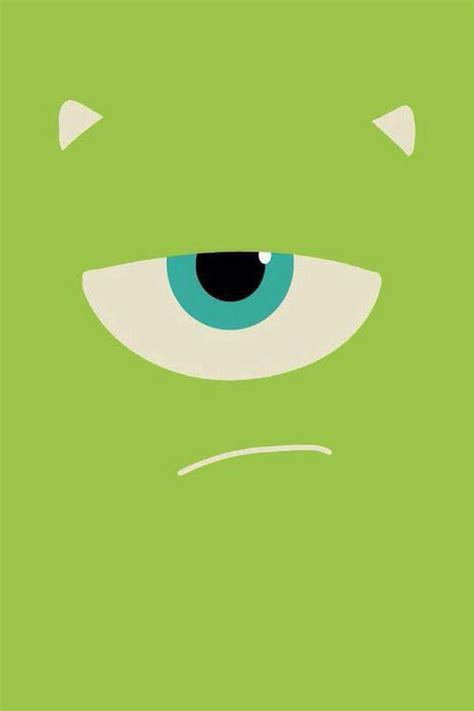 wallpaper iphone monster inc mike wazowski wallpaper pinterest monsters inc mike