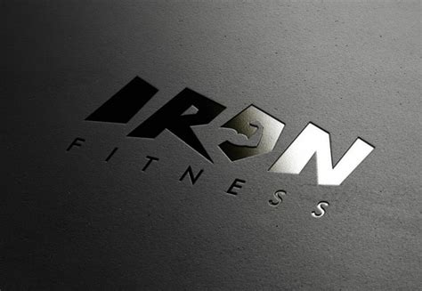 Iron Fitness iron fitness logo design and branding