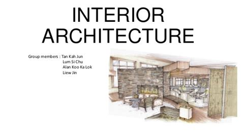 what is interior designing interior architecture