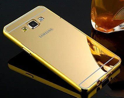 Bumper Mirror Back Cover For Samsung Grand 2 metal bumper acrylic mirror back cover for samsung galaxy grand 2 golden available at