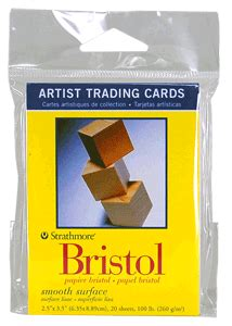 strathmore cards templates strathmore artist trading card pack of 20 bristol