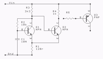 inductor oscillator rc led diagram rc free engine image for user manual