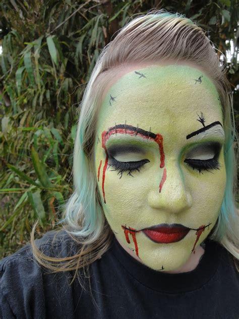kims makeup blog pin  zombie tutorial