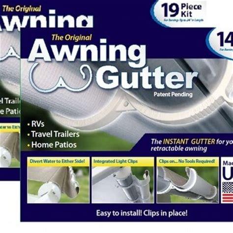 Rv Awning Gutter by Awning Gutter Llc Awninggutter