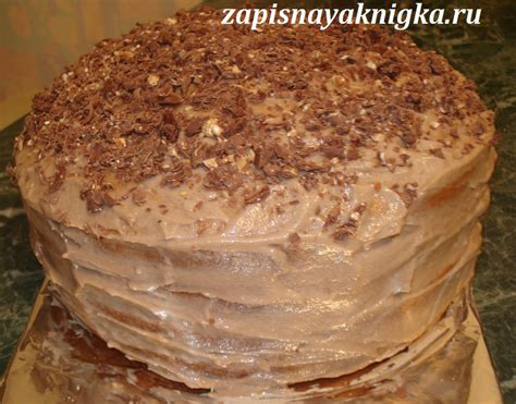 Фото рецепт медового бисквита