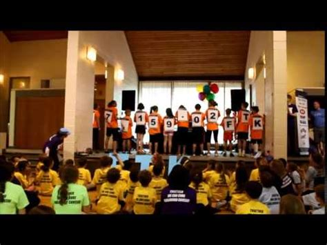 bench mark school benchmark school s mini thon raises 7 159 02 for children
