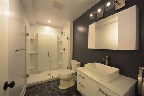 basement bathroom renovation ideas basement shower enclosure basement masters