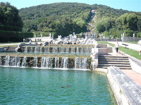 giardini di caserta cascate reggia dimore storiche italiane