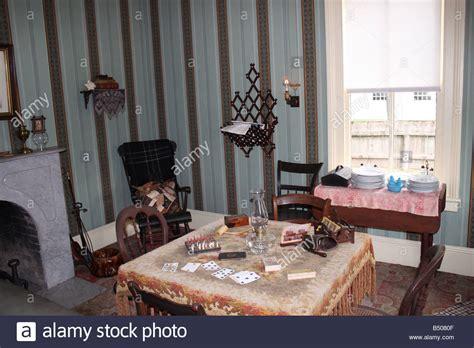 Wohnzimmer 19 Jahrhundert by Edisons Stockfotos Edisons Bilder Alamy